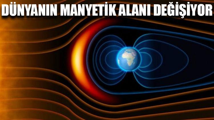 Dünyanın manyetik alanı değişiyor