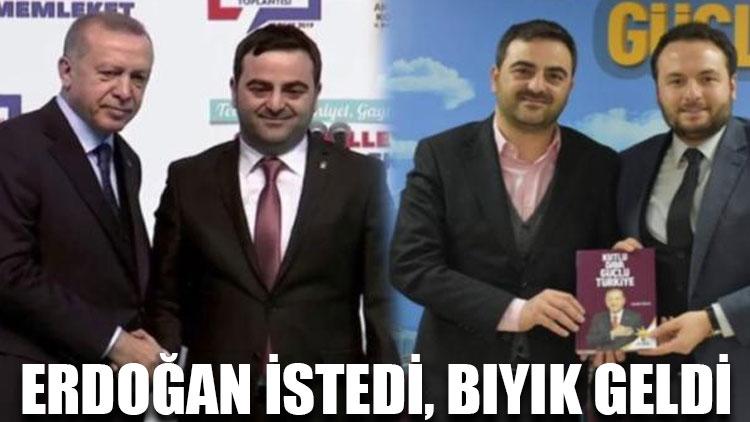 Erdoğan istedi, bıyık geldi