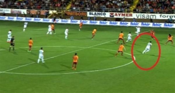 Türk futbolunu karıştıran görüntü