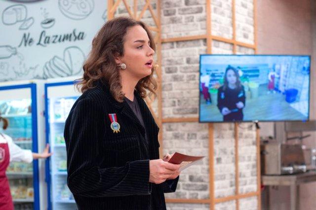 Yılmaz Erdoğan'ın kızı Berfin Erdoğan ilk kez ekrana çıktı