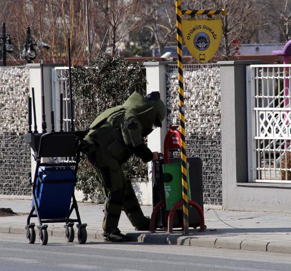 Kayseri'de şüpheli valiz paniği