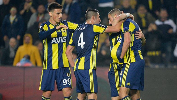 Fenerbahçe evinde Zenit'i yendi, avantaj yakaladı