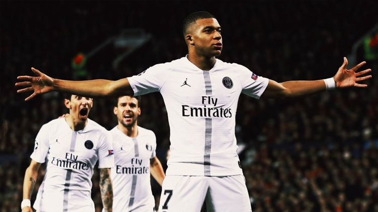 Manchester United: 0 - Paris Saint-Germain: 2