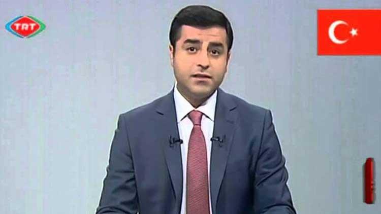 TRT, Demirtaş videosunu YouTube'dan kaldırttı