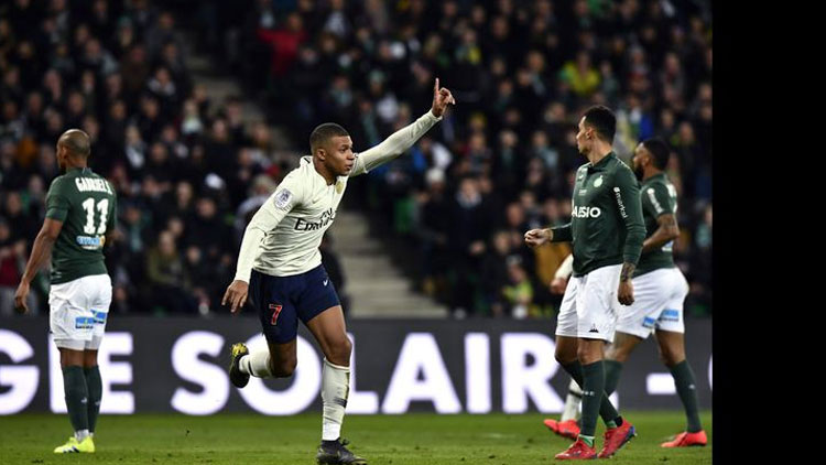 Saint Etienne - PSG maç sonucu: 0-1