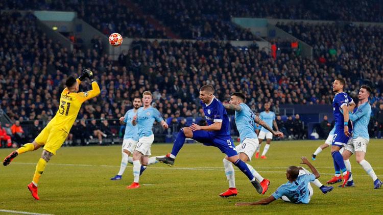 Schalke 04: 2 - Manchester City: 3 / MAÇIN ÖZETİ