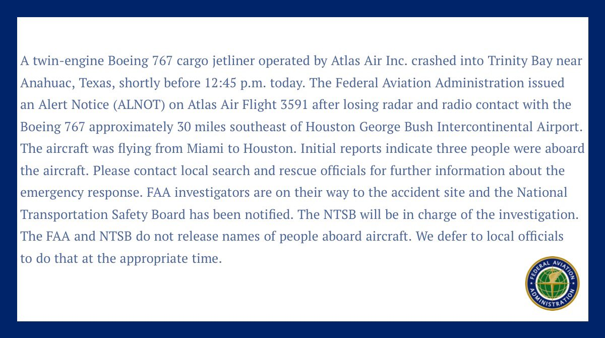 Amazon'a ait uçak düştü