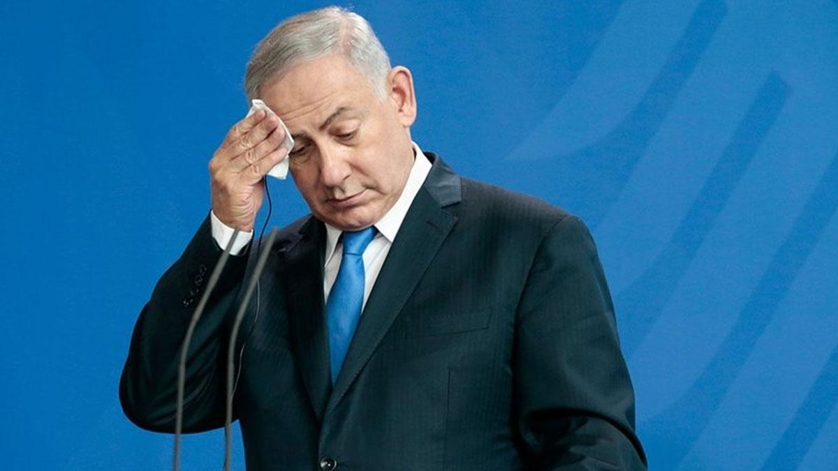 Batı Şeria'yı ilhak niyetini açıklayan Netanyahu'nun toplantısında roket alarmı: Sığınağa götürüldü