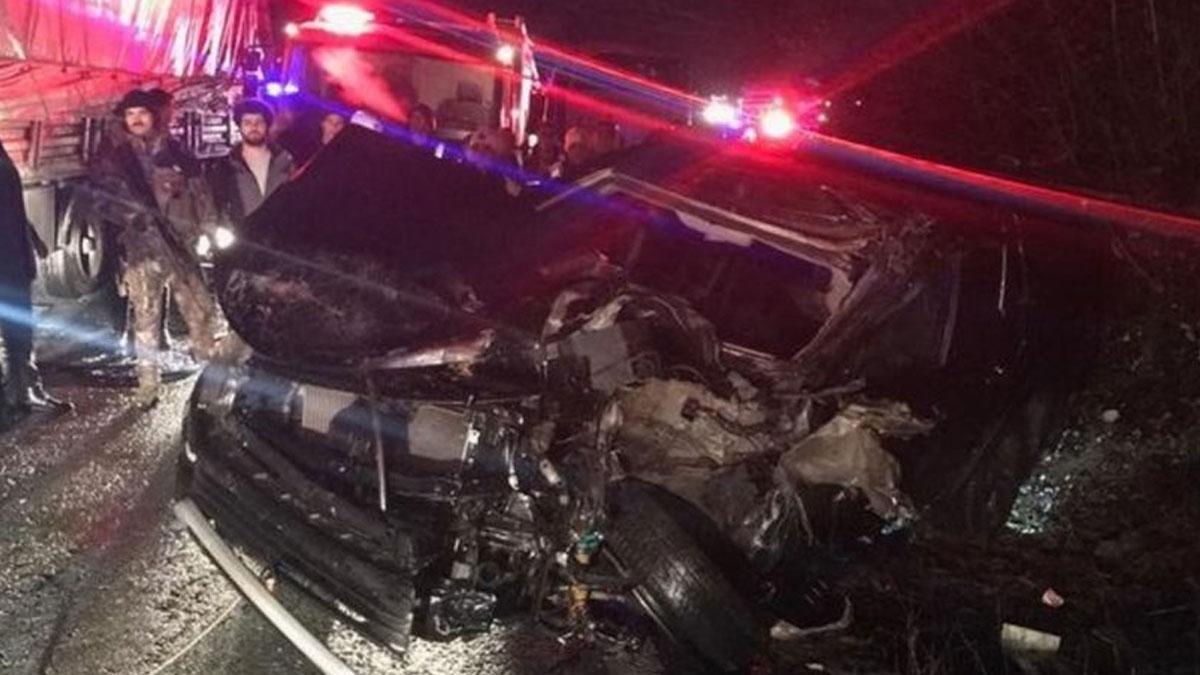 Erdoğan'ın konvoyunda görevli özel harekat polislerini taşıyan minibüs kaza yaptı! Yaralılar var