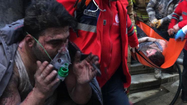 Beyoğlu'nda yangın: 4 ölü, 1 yaralı