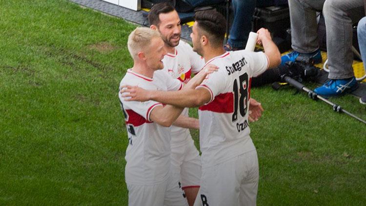 Ozan Kabak, Stuttgart'ta iki gol birden attı!
