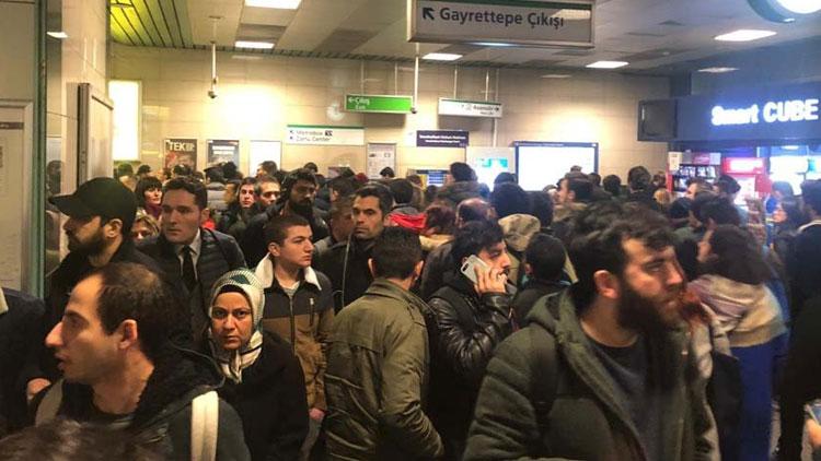 Yenikapı-Hacıosman metro hattında seferler normale döndü