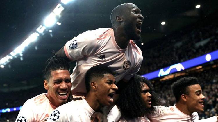 Manchester United deplasmanda PSG'yi 3-1 yendi ve turu geçti