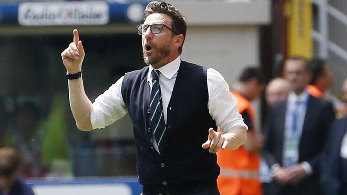 Roma teknik direktörü Di Francesco kovuldu!
