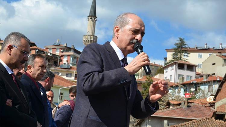 Kurtulmuş: Erdoğan'ın gitmesini isteyenler 31 Mart'ta avuçlarını yalayacak