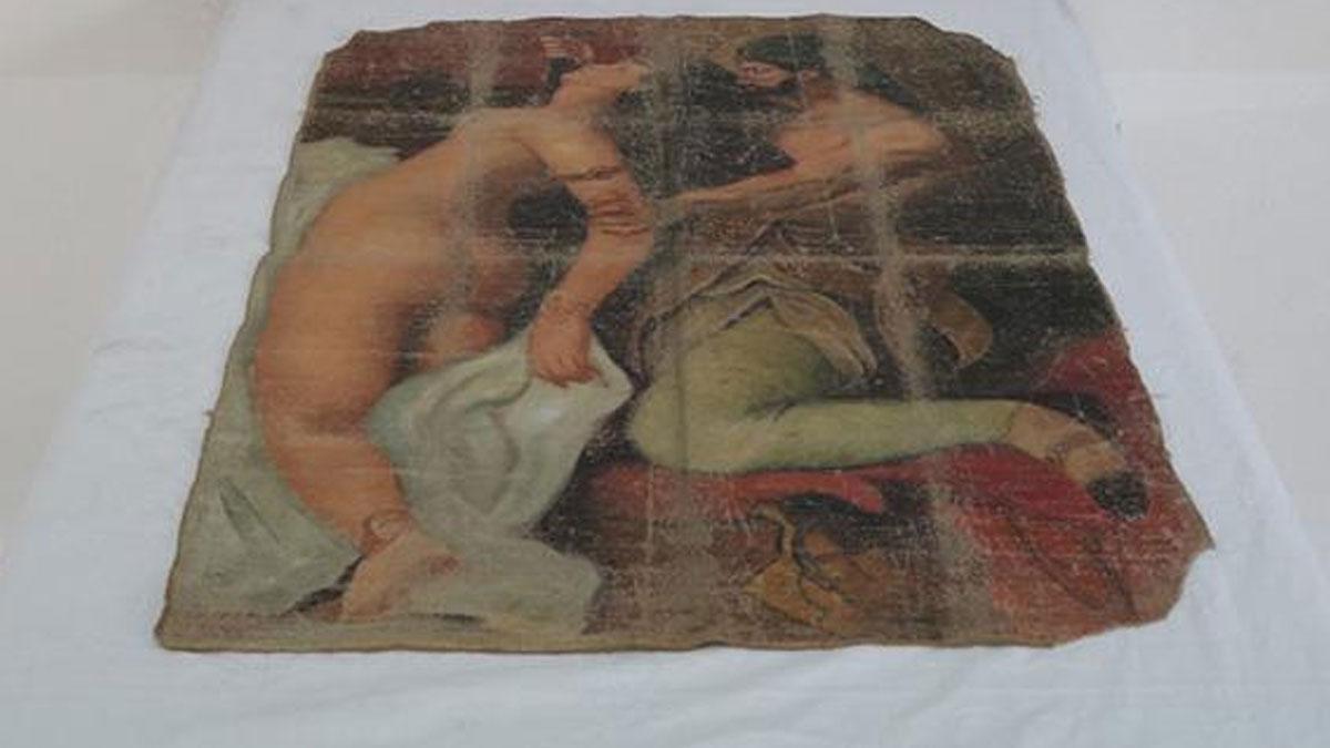 Diyarbakır'da Picasso tablosu ele geçirildi! 'Katil ve Çıplak'