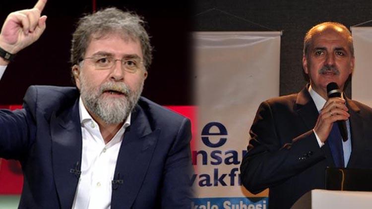 Ahmet Hakan'dan 'Avuçlarını yalayacaklar' diyen Kurtulmuş'a tepki