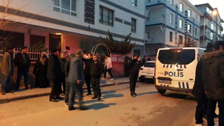 Ankara'da 3 katlı bina çökme tehlikesiyle boşaltıldı