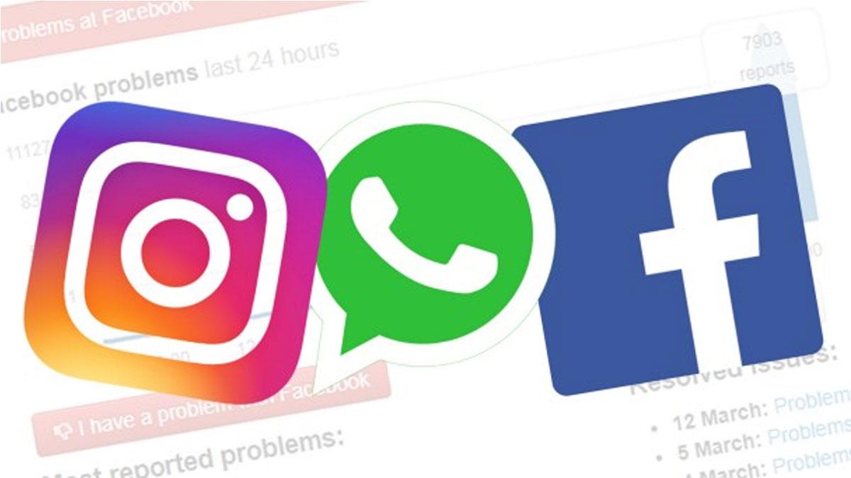 'Facebook, Instagram ve Whatsapp'te global sorun yaşanıyor'