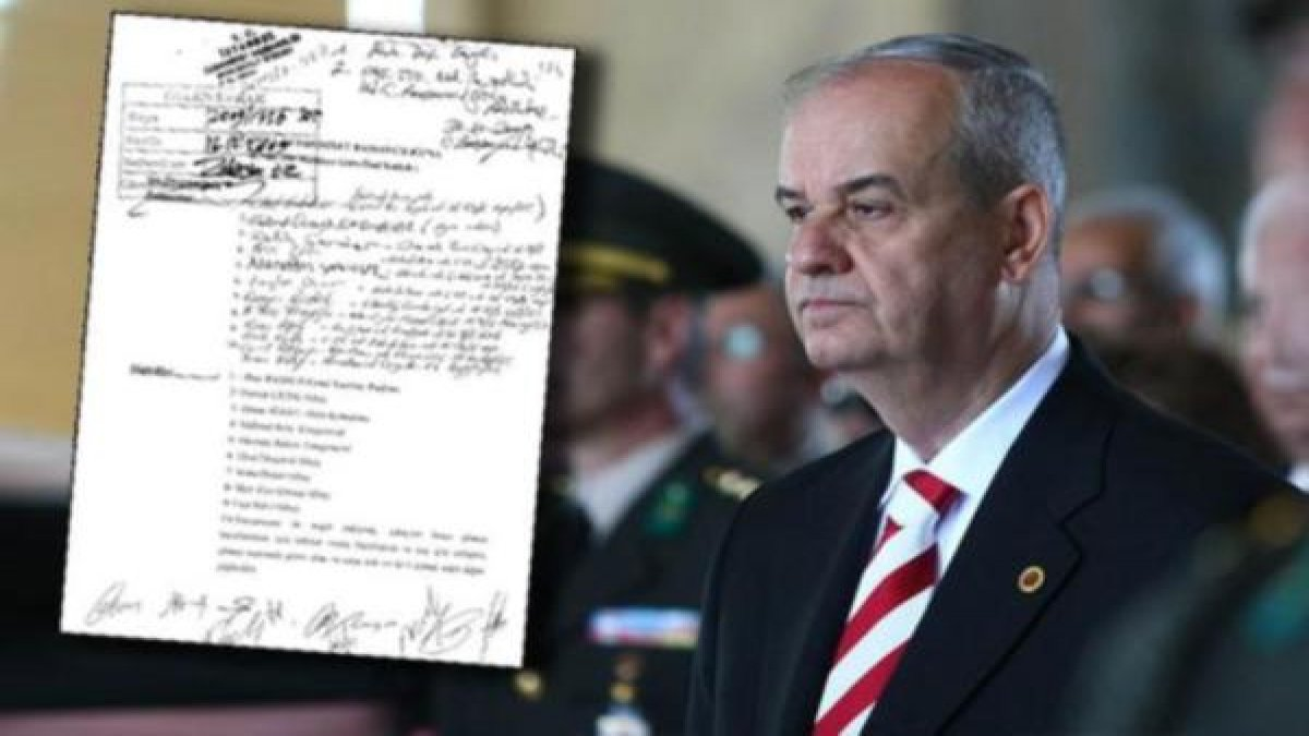 Kumpasın belgesi ortaya çıktı: Henüz görevdeyken...