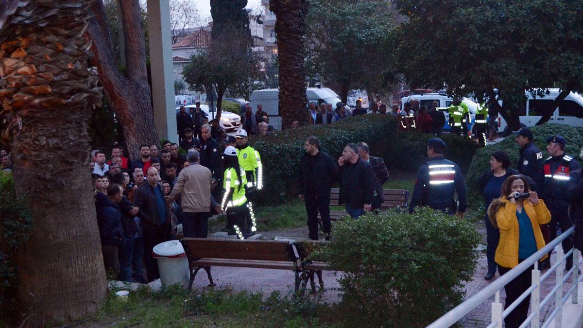 İzmir'de belediye başkan adayına silahlı saldırı: Zanlıya linç girişimi