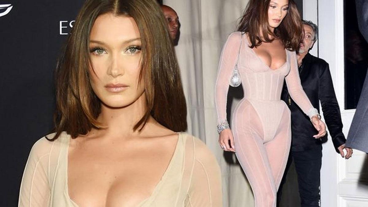 Victoria's Secret'ın meleklerinden Bella Hadid'in Kapadokya pozlarına beğeni yağdı!