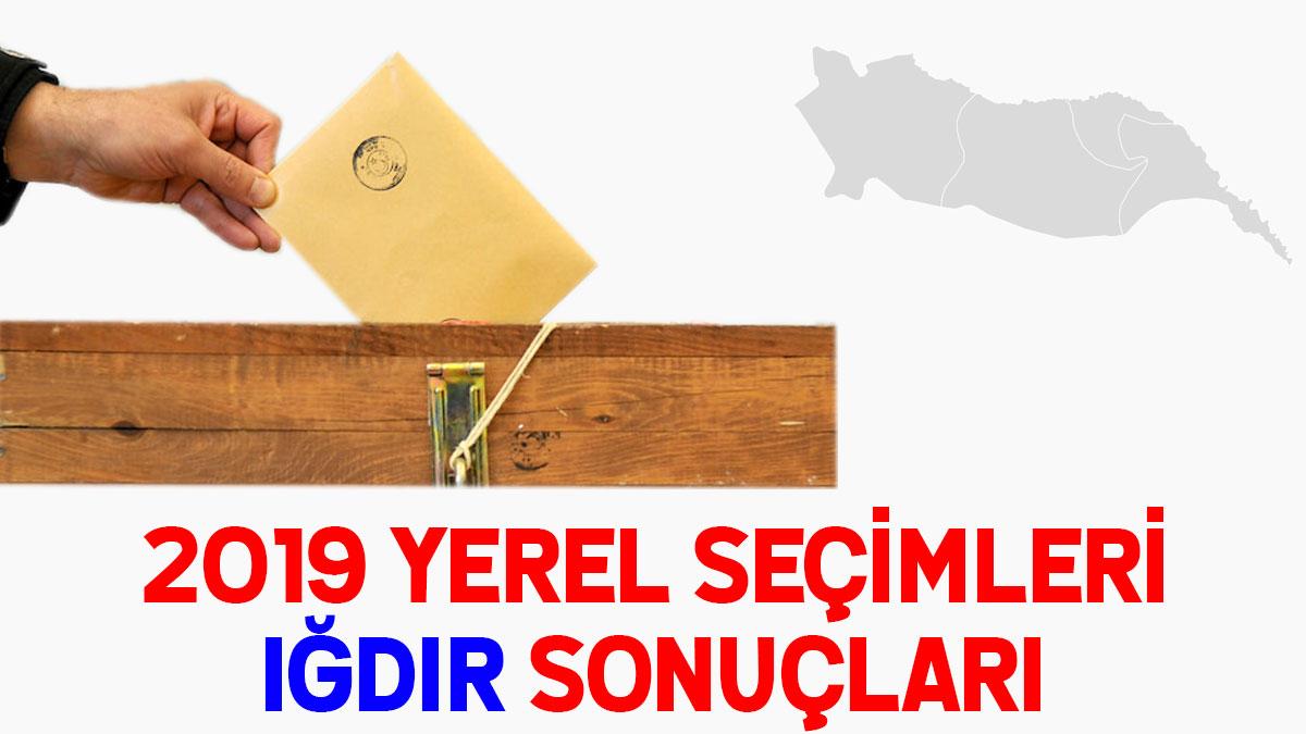 Iğdır seçim sonuçları 2019: İşte yerel seçim Iğdır oy oranları