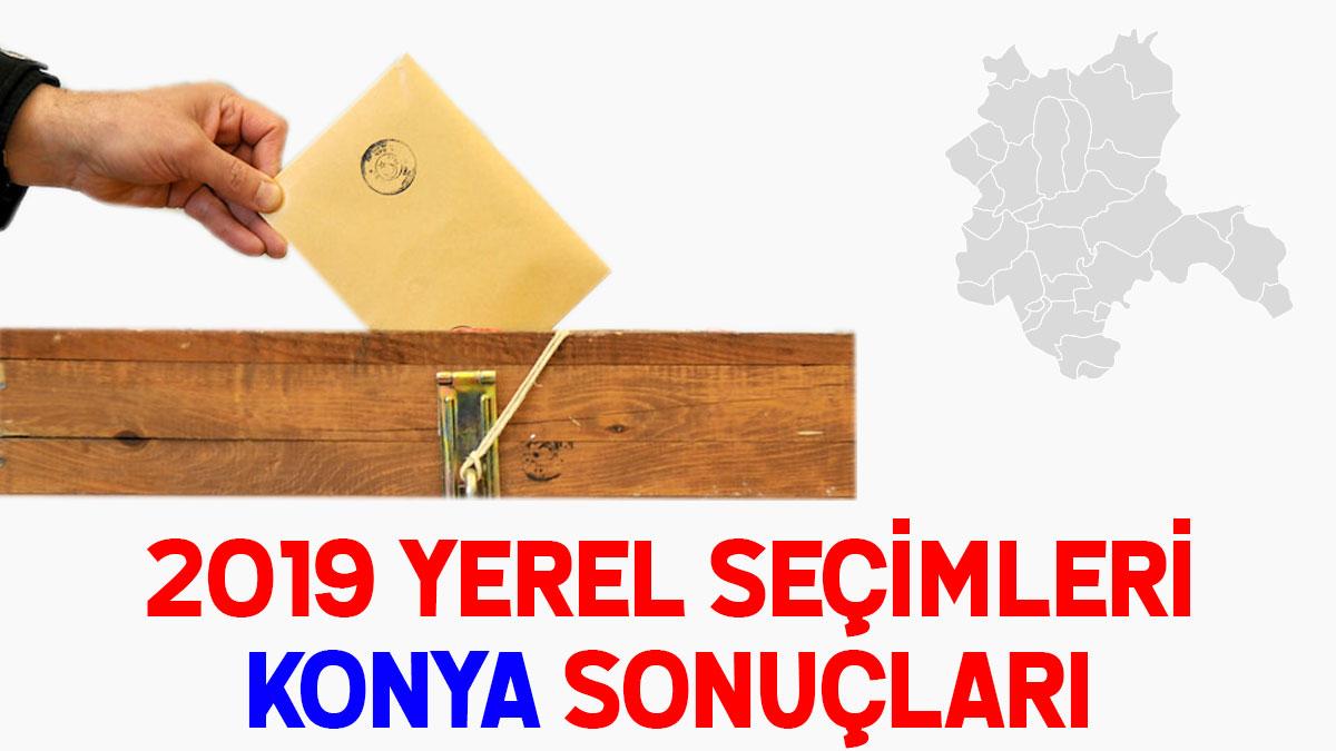Konya seçim sonuçları 2019: 31 Mart seçim sonucu oy oranları