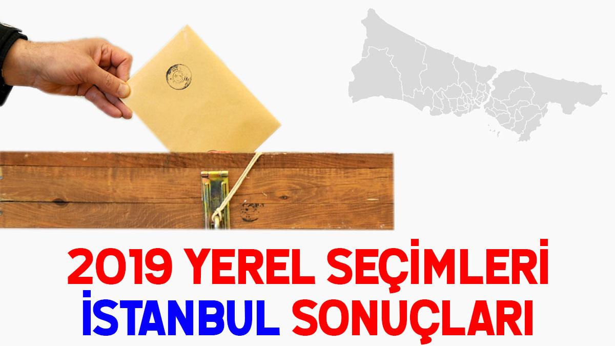 İstanbul seçim sonuçları 2019: İşte İstanbul partilerin oy oranı!