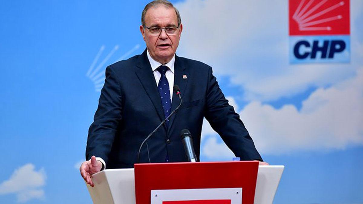 CHP Sözcüsü'nden son dakika açıklaması: Manzara çok açık