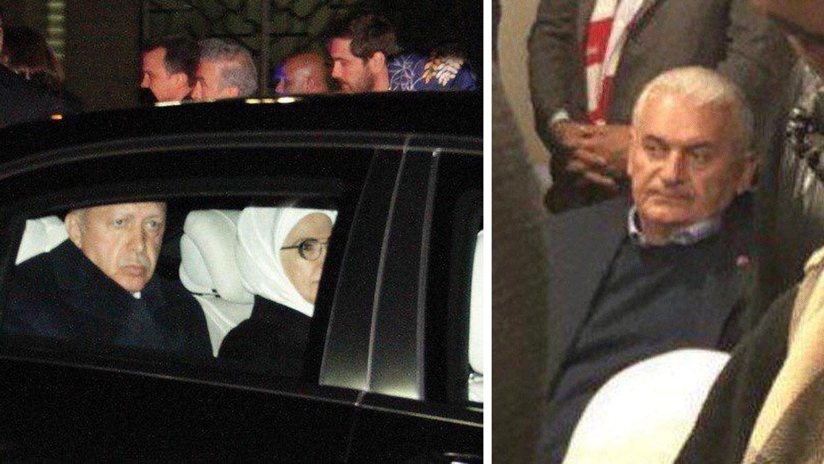Erdoğan Ankara'da! Dikkat çeken görüntü