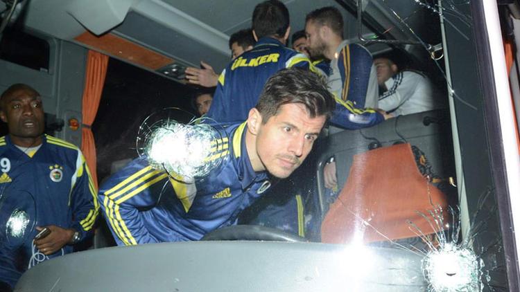 Fenerbahçe takım otobüsüne saldırı olayıyla ilgili flaş gelişme!