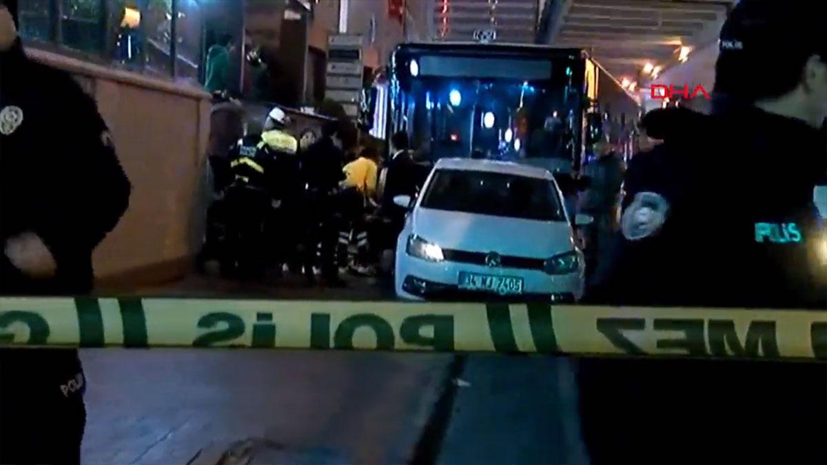 İstanbul'da halk otobüsü kaza yaptı! Yaralılar var