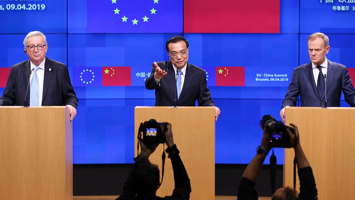 Belçika'da AB - Çin zirvesi!