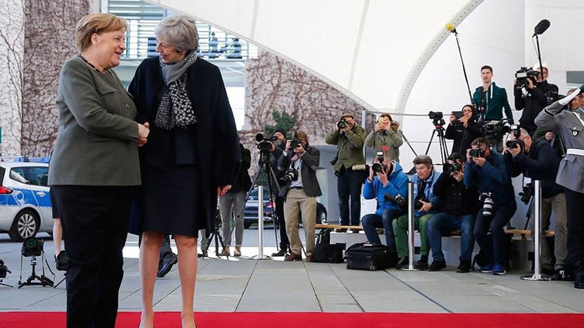 İngiltere ve Almanya arasında Brexit görüşmesi!