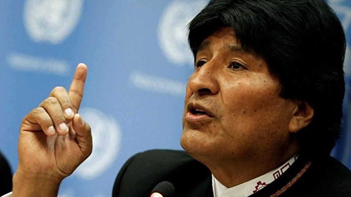 Bolivya lideri Morales'ten Assange'ın tutuklanmasına tepki!
