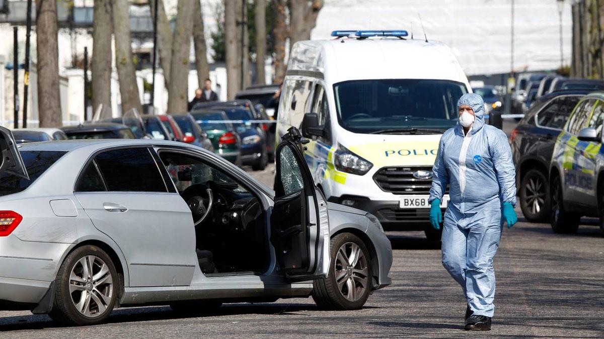 Londra'da silahlı saldırı: Büyükelçilik kapatıldı!