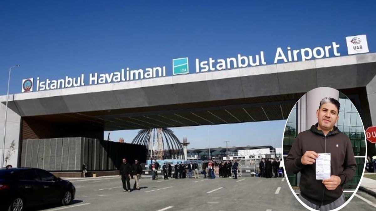 İstanbul Havalimanı'ndan bindi, Aksaray'a indi! Kredi kartını inceleyince hayatının şokunu yaşadı