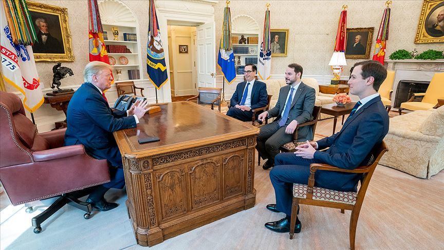 Bakan Albayrak, Beyaz Saray'da ABD Başkanı Trump ile görüştü