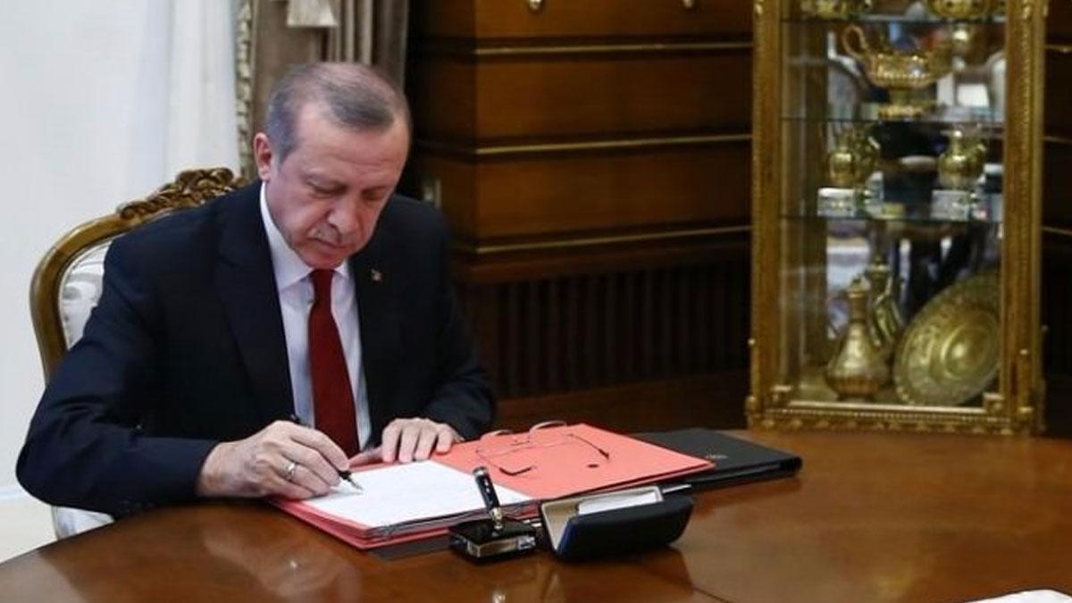 Erdoğan imzaladı! Koltuğa o isim atandı