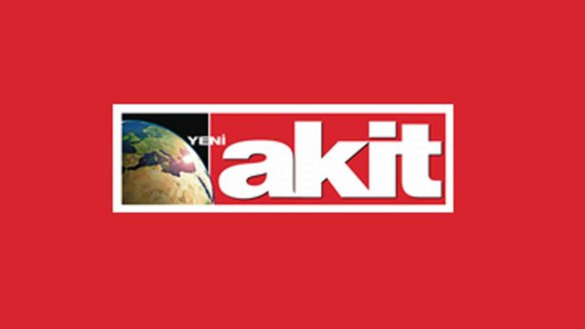Yeni Akit'ten dünyayı sarsan olay için skandal manşet!
