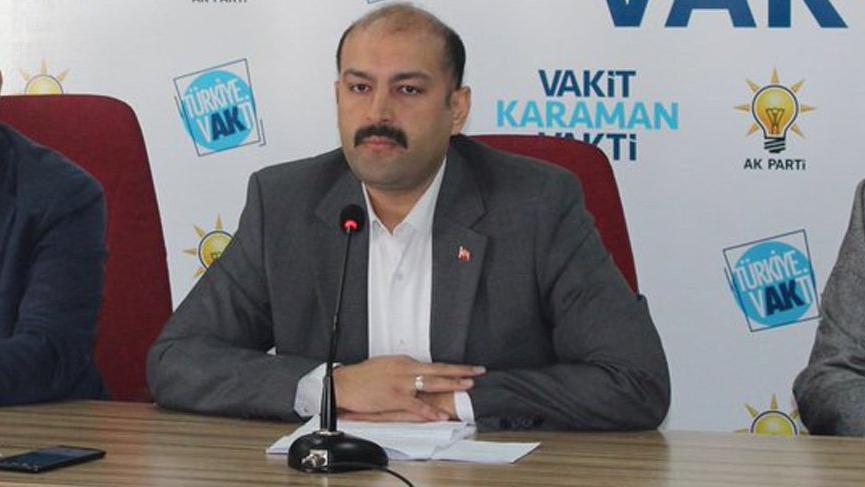 AKP Karaman il başkanı Mehmet Er istifa etti
