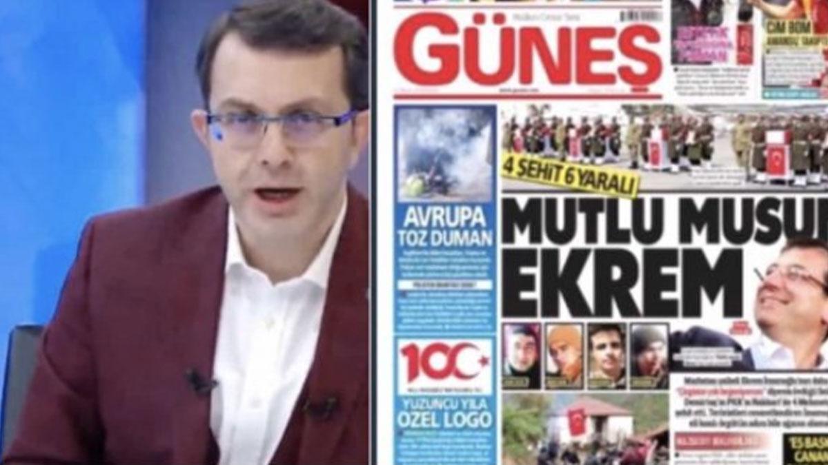AKP'den Güneş'in manşetine tepki: Gazetecilik değildir