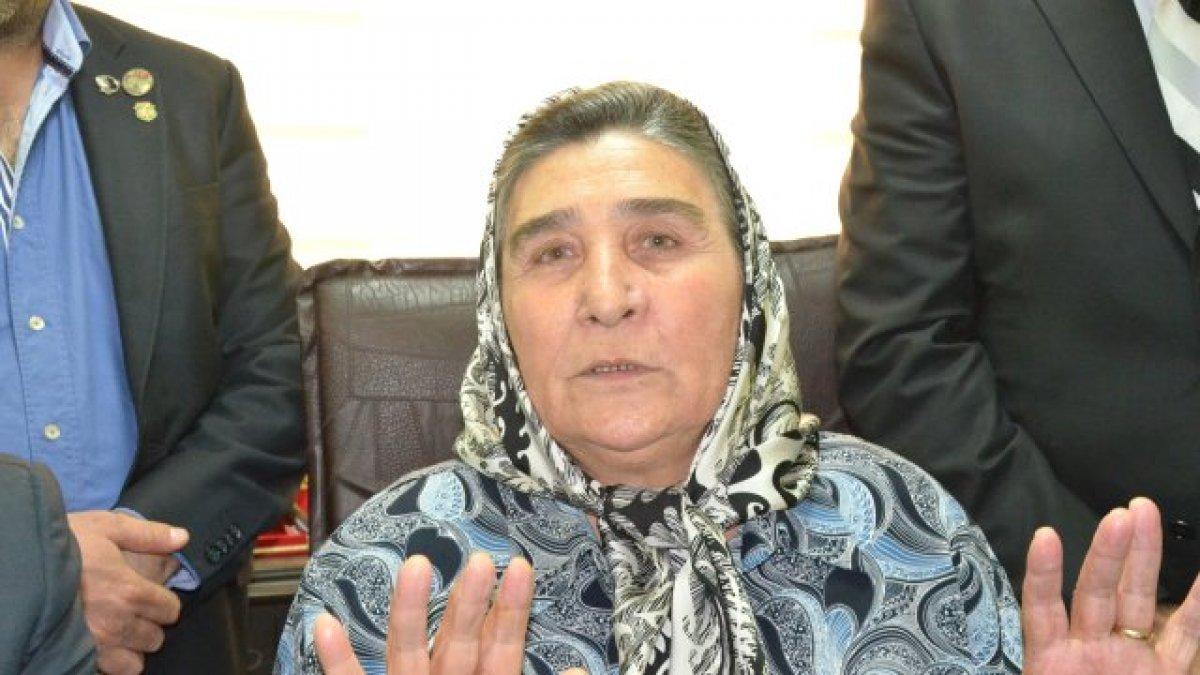 Şehit Anneleri Derneği Başkanı Pakize Alp Akbaba: Cehennem zebanisine sahip çıkıyorlar