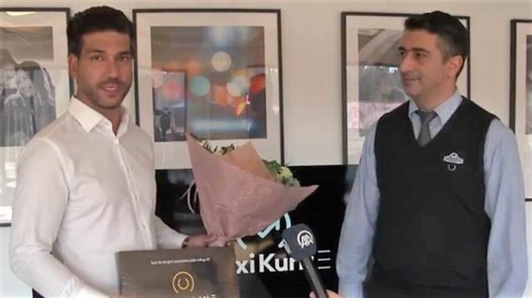 Kahraman ilan edilmişti; Türk taksiciye ödül