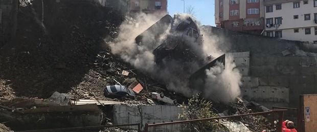 Kağıthane'de çöken binanın müteahhidine tutuklama