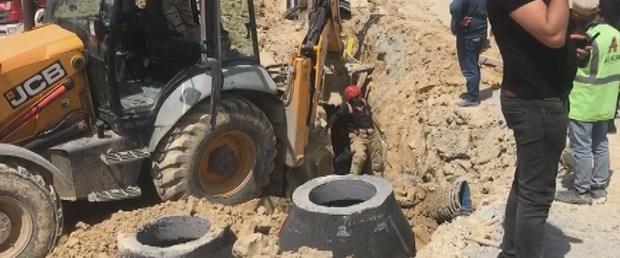 Okul inşaatında göçük: 1 ölü