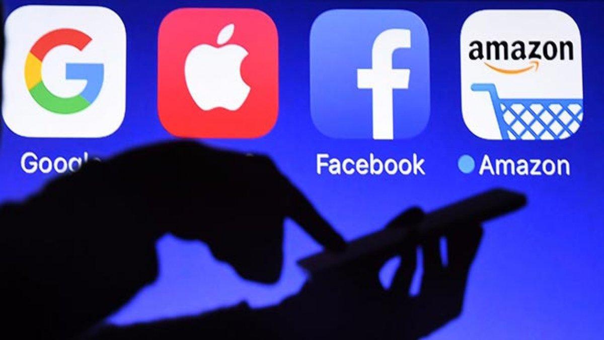 Google, Apple, Facebook ve Amazon vergilendirilecek
