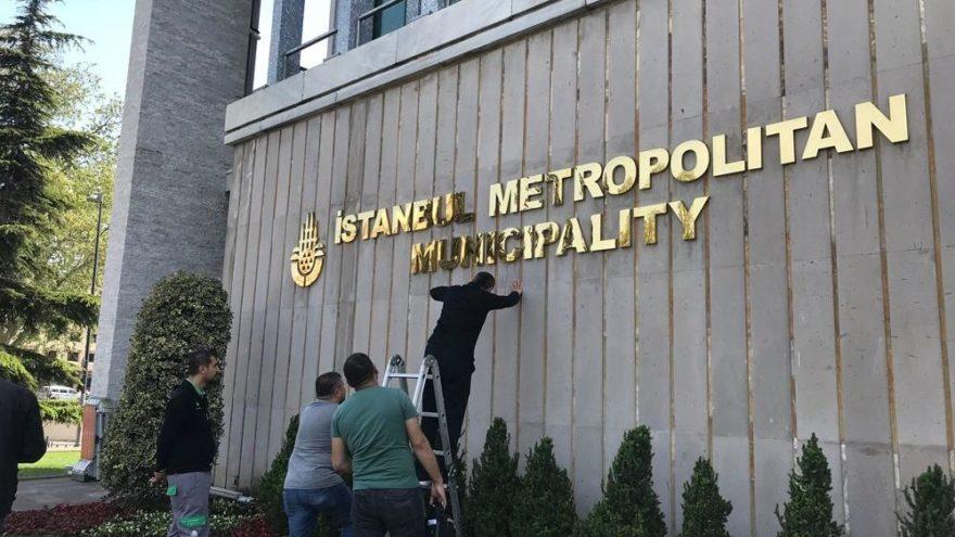 """""""T.C."""" ibaresi Ankara'nın ardından şimdi de İstanbul'da"""