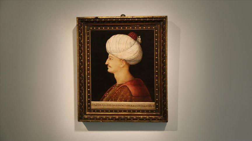 Kanuni Sultan Süleyman portresine rekor fiyat